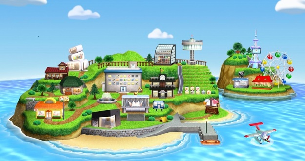 Tomodachi Life Island