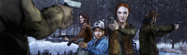 The Walking Dead Amid the Ruins