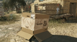 Metal Gear Solid V Cardboard Box